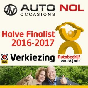Auto Nol halve finalist Autobedrijf van het Jaar
