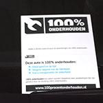 100% onderhouden occasions voortaan voorzien van certificaat | Auto Nol Nijkerk